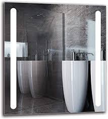 arttor badezimmer spiegel mit beleuchtung bad dekoration