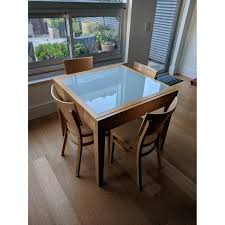 Design Within Reach Expandable Dining Table W 4 Chairs