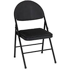 Cosco Folding Chairs Target by Amazon Com Cosco Fabric 4 Pack Folding Chair Black Kitchen U0026 Dining