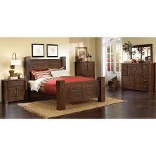 Dark Pine 6 Piece King Bedroom Set Trestlewood
