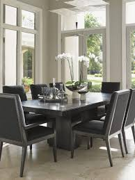 Grey Upholstered Dining Chairs With Nailheads by Uncategories French Dining Chairs Grey Leather Dining Room