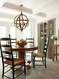 Modern Country Kitchen Traditional Dining Room Atlanta by