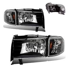 Amazon.com: SPPC Crystal Headlights Black With Corner Light For ... Diode Dynamics Dd2015 Dodge Ram Daytime Running Light Switchback Body Painted Headlights Trucks Pinterest Rams 9401 Ram 1500 2500 3500 Oem Style Crystal Chrome 2009 14 Quad Halo Install Package 2010 Reviews And Rating Motor Trend Smoked Black Projector 0609 Recon Lumen Sb7697hlchr 7x6 Rectangular Led Fit 092018 1018 Headlight Doorsbezels Mopar Upgrades Anzo Truckin 15 06 For 2018 Saintmichaelsnaugatuckcom Ubar 62008