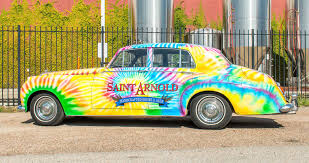 Saint Arnold Pumpkinator 2015 by Saint Arnold Brewing Company Starts Phased Rollout Of Art Car Ipa