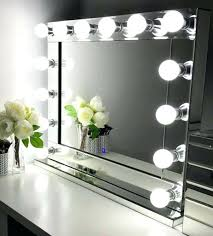 Makeup Desk With Lights Uk by Makeup Table And Mirror With Lights Hollywood Dressing Table