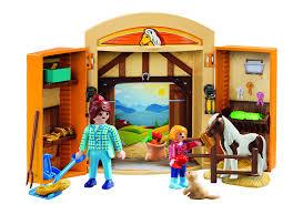 Playmobil Horses Play Box Play Set - Toys
