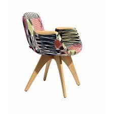 chaises fauteuil chaise fauteuil patch wood missoni home déco en ligne chaises