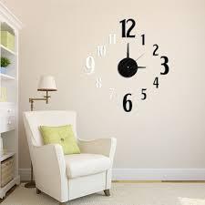 Horloge Mural 3d Achat Vente Pas Cher Horloge Design Et Elegante Coloris Blanc Cheval Horloge Achetez Des