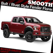 For 2015-2018 FORD F-150 Black Smooth Fender Flares Kit Pocket-Rivet ... 42008 Ford F150 Riveted Fender Flares By Rough Country Youtube Pocket Style Flare Set Of 4 Oe Matte Black 20934 Bushwacker 2092702 Max Coverage Pocketstyle 02014 Raptor Svt Bushwacker 19992007 F350 Front And Generic Body Side Molding Trim 0408 Reg Cab Short Bed 52017 Oestyle 2093702 Ranger Mki Set 0914 Raptorstyle Extafender Rear Stampede 84142 Ruff Riderz Smooth Pc