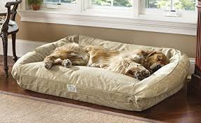 orvis deep dish toughchew dog bed large dogs 60 120 lbs