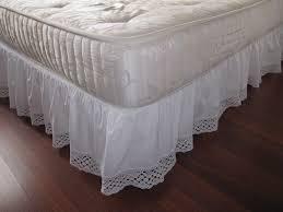 Bedskirt For Tempurpedic Adjustable Bed by Bedrooms Bedskirt 22 Inch Drop Bedskirt Dust Ruffles