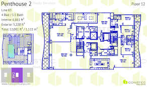 Chateau Floor Plans Fendi Chateau Residences Complete Floor Plans