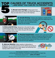 100 Truck Accident Attorney Tampa Top 5 Causes Of S And How To Avoid One Infographic