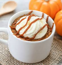 Pumpkin Pie Mug Cake Kirbie s Cravings
