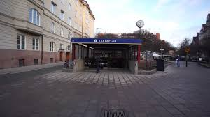 100 Karlaplan Sweden Stockholm Subway Station DEKRA Elevator