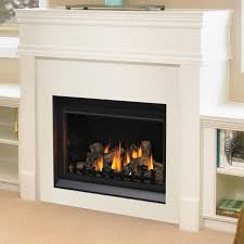 Gas Log Zero Clearance Gas Log Fireplace