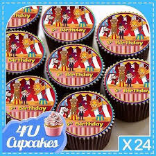 24 X HAPPY BIRTHDAY CIRCUS 5TH