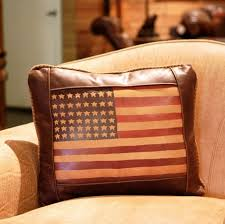 American Flag Pillow at Anteks Furniture Store in Dallas