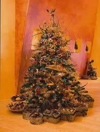 Seashell Christmas Tree Skirt by African Aloe Christmas