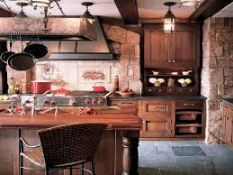 Image Of Rustic Style Kitchen Cabinets