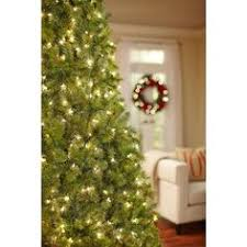 9 Ft Pre Lit Christmas Trees by Home Accents Holiday 9 Ft Pre Lit Full Wesley Spruce Quick Set