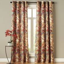 Pier 1 Imports Curtain Rods by Floral Curtain Indigo Meadow Pier 1 Imports Walls And