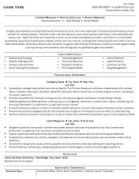 Technical Resume Writer Sample For Writers Professional And