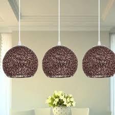 mode kurzen silber braun hängeleuchte nordic ikea design büro esszimmer pendelleuchten led globus drop lichter
