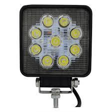 100 Led Work Lights For Trucks 4 Inch 27W LED Light 12V Led Tractor Work Lights 24V Fog