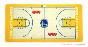 Golden State Warriors Basketball Team Court Mouse Pad Mat 6003003mm