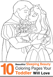 Sleeping Beauty Coloring Pages Best