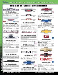 100 Classic Industries Chevy Truck GMC Emblems Decals 2015 By