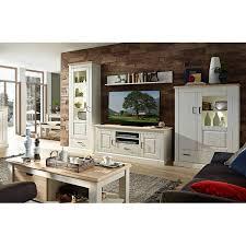 wohnzimmer möbel serie leer 55 in pinie weiß mit abs eiche hell selb