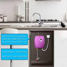 frische design elektrische wasser heizung elektrische instant küche wasser heizung für bereitstellung heiße wasser in küche und bad buy elektro