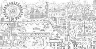 Cool Coloring Books For Adults A Stroll In London By Thomas Flintham