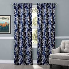 Navy Blue Chevron Curtains Walmart navy blue curtains at walmart blue navy curtains with fresh