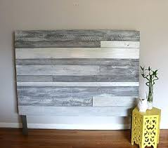 Diy Rustic Headboard Plans Simple Wood Headboard Designs 100