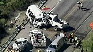 Texas Church Bus Crash: Truck Crossed Line, Authorities Say