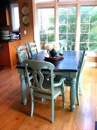 Chalk Painted Dining Room Tables Repainting Kitchen Table Paint Best Ideas C