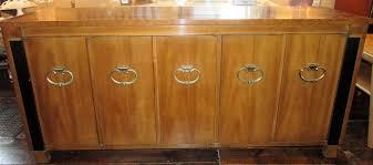 Birdseye Maple Vanity Dresser by Vintage J B Van Sciver Buffet Walnut U0026 Birds Eye Maple Veneer