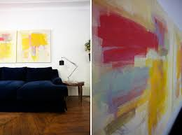 Abstract Art Diy By Oh Happy Day