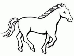 Horse Coloring Pages Alphabet Printable