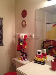 Mickey Mouse Bathroom Decor Kmart by Best 25 Mickey Bathroom Ideas On Pinterest Disney Bathroom
