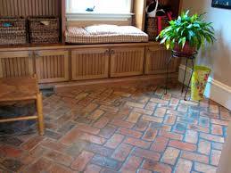 living scenic best tile for basement floor looks like brick