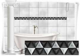 details zu fliesenaufkleber fliesenbild fliesen aufkleber mosaik grau bad wc küche deko