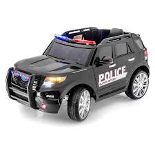 100 Ford Police Truck SPORTrax Explorer Style Battery Powered Riding Toy