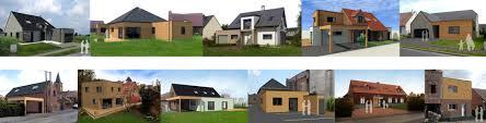 construction d une maison ossature bois à hallennes haubourdin