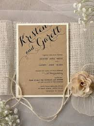 Country Style Wedding Invites Rustic Chic Invitation Ideas
