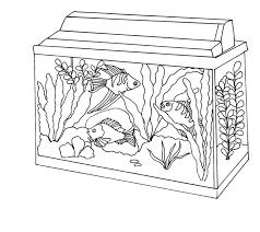 99 Ideas Aquarium Coloring Page On Gerardmann Com