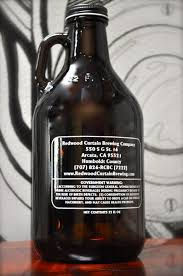 32 ounce mini growler redwood curtain brewing co